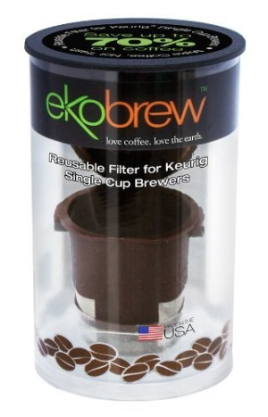 Ekobrew Cup, Reusable K-Cup For Keurig K-Cup Brewers
