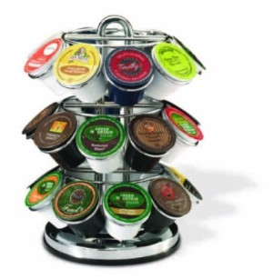 Keurig 5060 K-Cup Carousel, Chrome K-Cup Holder