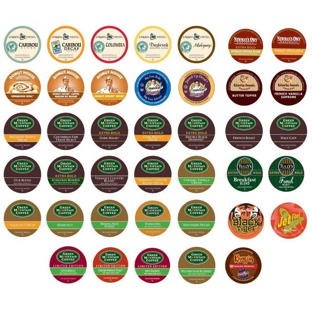 Keurig Coffee Only Sampler Pack 40 Ct Variety Of K Cup